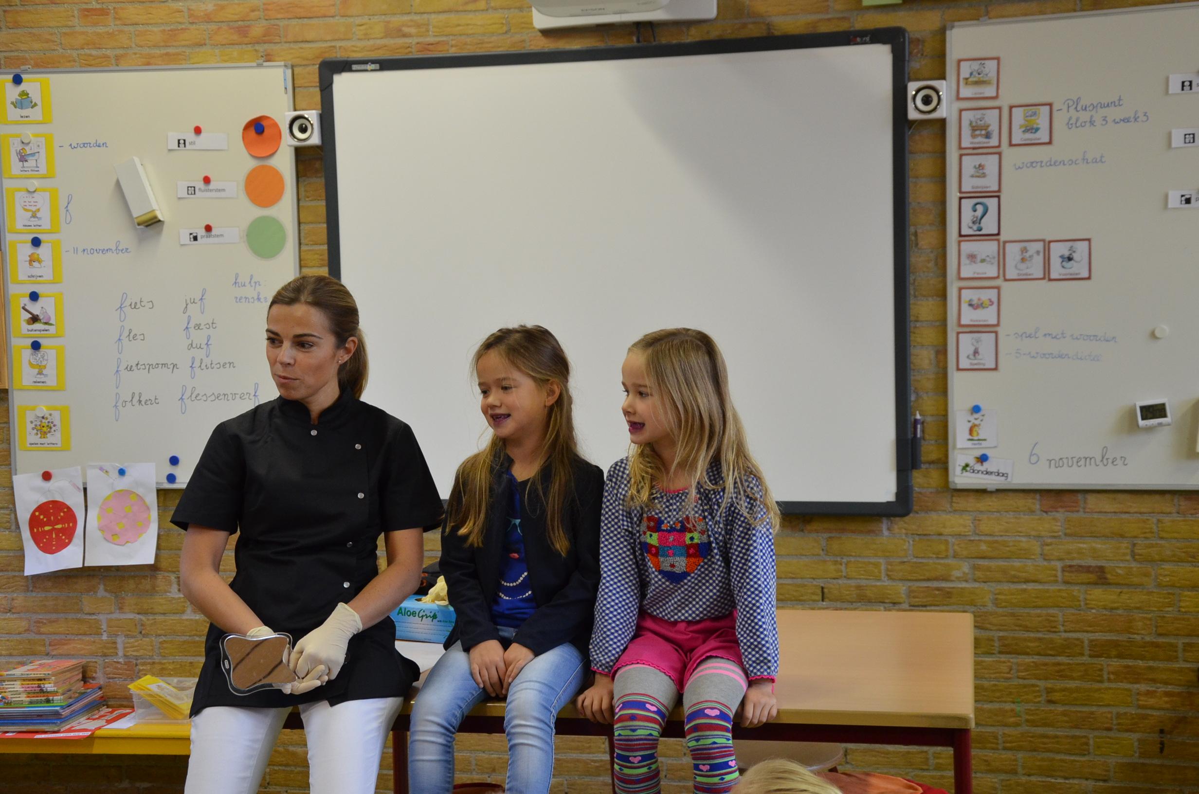 Voorlichting op basisschool de Regenboog (3/8)